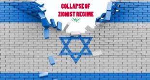 COLLAPSE OF ZIONIST REGIME